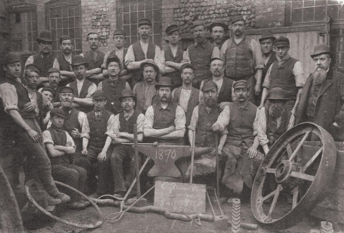 Charles Burrell Works 1890