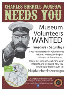 Volunteer at the Charles Burrell Museum